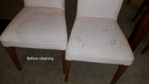 stains on chairs